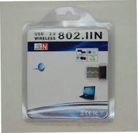 USB Wireless Adapter 2.0 802.11n/g/b 2.4GHZ 150Mbps Wifi/WLAN nano mini