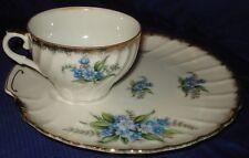 RP865 Vtg Shafford Bone China Japan Teacup & Plate Set