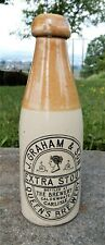 Graham and Son Extra Stout Carlisle ginger beer bottle
