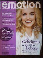 Emotion Zeitschrift Magazin 4 x *neuwertig*