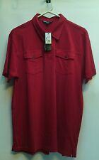 Vroom & Dreesmann  Men's  Casual Shirt, Red Sz Lrg NWT