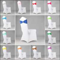 100 Lycra Spandex Chair Band with Buckle Chair Covers Wedding Decor Diamante