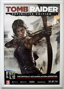 Tomb Raider Definitve Edition RARE PS4 XBOX ONE 42cm x 59cm Promotional Poster