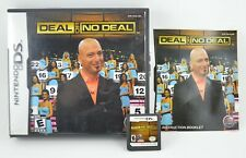 Deal or No Deal (Nintendo DS, 2007) Complete! 3DS 2DS XL Game Show Howie Mandel