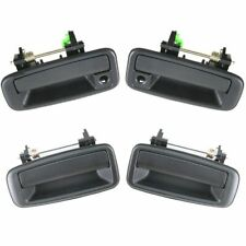 Outer Outside Exterior Door Handle 4 Piece Kit Set for Toyota Corolla Geo Prizm