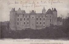 CPA  --  CHATEAU DE LAROCHETTE  ST GENGOUX LE NATIONAL   783.C  CIRCULEE EN 1903