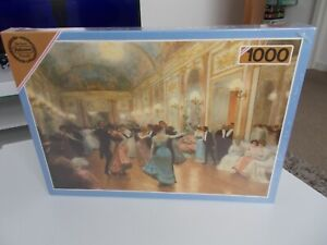 Falcon Deluxe 1000 Piece Jigsaw Elegant Ball By Victor Gilbert  NEW & SEALED