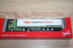 Herpa 307932 - 1/87 DAF XF Sc Valise - Oegema - Neuf