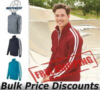Independent Trading Co Unisex Poly-Tech Full-Zip Track Jacket EXP70PTZ up to 2XL