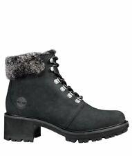 Women's Timberland Kinsley mid hiker black nubuck boots