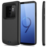 For Samsung Galaxy S10/S9/S8 Plus/Note 9 Battery Charger Case Power Bank Backup