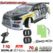 70km/h High Speed Remote Control Racing Car 1:10 Scale 4WD Drift Vehicle RTR