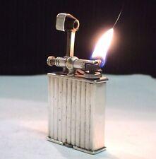 Briquet ancien PARKET ALFRED DUNHILL Vintage Fuel Lighter Feuerzeug Accendino