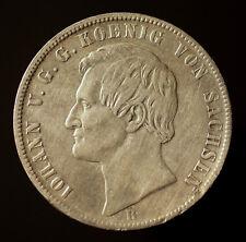Kgr. Sachsen, Johann, Ausbeutetaler 1868 B
