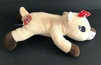 Dan Dee Clarice Plush Rudolph the Red Nosed Reindeer 50 Anniversary Laying Down