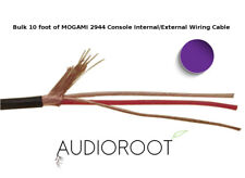 Bulk 10 foot of PURPLE MOGAMI 2944 26 AWG Console Internal/External Wiring Cable