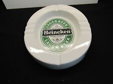 Heineken Lager Beer Heavy Ceramic Oval Ashtray . T934
