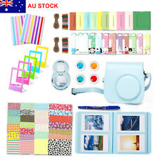 For Fujifilm Instax Mini 8 Instant Camera Accessory Bundles 7 in 1 Bag Selfie BF