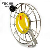 25CM Kite Wheel Reel Stainless Steel Handle Locable Bear Bearings Flying Outdoor