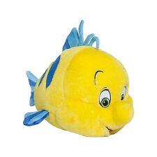 Disney Little Mermaid Flounder Plush Soft Stuffed Toy 16''