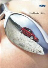 Ford Fiesta UK Market Brochure 2005 2006 inc ST Ghia Zetec Zetec S Style Studio