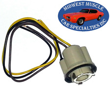 GM 1157 Tail Light Bulb Replacement Socket Wiring Harness GTO Chevelle 442 GS