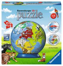 Ravensburger 11840 Puzzle ball 3 D la Terre les animaux 11840