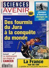 SCIENCES ET AVENIR  N°571 DES FOURMIS DU JURA A LA CONQUETE DU MONDE