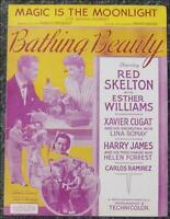 Esther Williams Bathing Beauty, Thrill Romance Lot of Three Movie Sheet Music