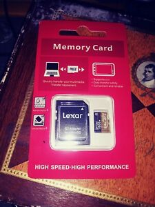 Lexar SILVER Professional 1024 ( 1TB ) microSDXC UHS-I Memory Card w/SD Adapter