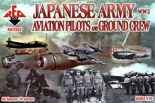 Red Box - Japanese army WW2 aviation pilots and ground crew - 1:72