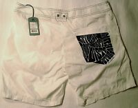 NWT -RRP $119- Mens Fully Lined G-Star 'TROPEZ SWIM SHORT' Board Shorts Swimmers
