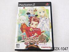 Tales of Symphonia Playstation 2 Japanese Import Japan JP NTSC-J PS2 US Seller
