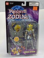 "2003 Bandai Knights of the Zodiac Swan Hyoga 5"" Action Figure MOC"