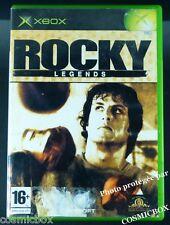 ROCKY LEGENDS Balboa jeu de boxe sport films boxeurs pour console XBOX pal testé