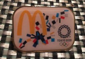 TOKYO 2020 OLYMPIC PINS - MC DONALDS SPONSOR PIN .