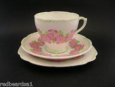 Royal Standard Vintage Art Deco English China Trio Tea Cup Saucer Plate Primula