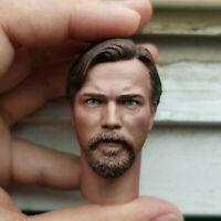 Delicate Hot 1/6 Scale Star Wars: Episode III Obi-Wan Kenobi A Style Head Sculpt