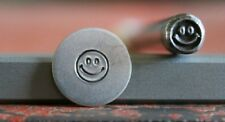 SUPPLY GUY 5mm Smiley Face Metal Punch Design Stamp SGA-46, Made in the USA
