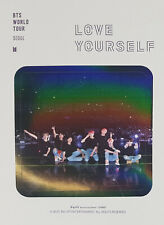 BTS WORLD TOUR LOVE YOURSELF SEOUL DVD OFFICIAL MD STICKER SET ONLY (4ea)+GIFT