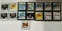 Lot of 15 Nintendo DS/3DS Games Mario - Simpsons - Donkey/Diddy Kong & more