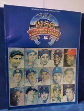 1986 MLB ALL-STAR GAME PROGRAM HOUSTON ASTROS