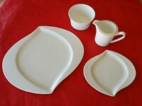 4 pc  ROSENTHAL GERMANY JADE PLATES BOWL COFFEE CREAMER for MID CENTURY MODERN