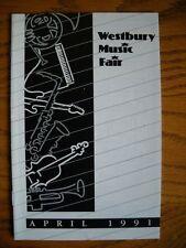 Playbill La Cage aux Folles Gene Barry & Lee Roy Reams  Westbury Music Fair 1991
