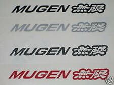 x 2 Mugen porte / fenêtre autocollants/Stickers pour Honda Civic/CRX/Integra