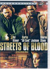 DVD ZONE 2--STREETS OF BLOOD--KILMER/50 CENT/STONE/WINKLER