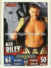 Slam Attax Rumble - Alex Riley - RAW
