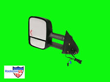 Chevy Silverado New Towing Mirror Left w/signal 2004 2005 2006 Extendable