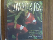 Wilkerson- Clownfishes book a Guide to their Care, Breeding & History NEW!!!