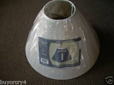 *New*Cream Color 9In.High Lamp Shade by Design Trends